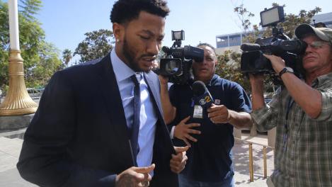 Derrick Rose Cleared in Rape Trial