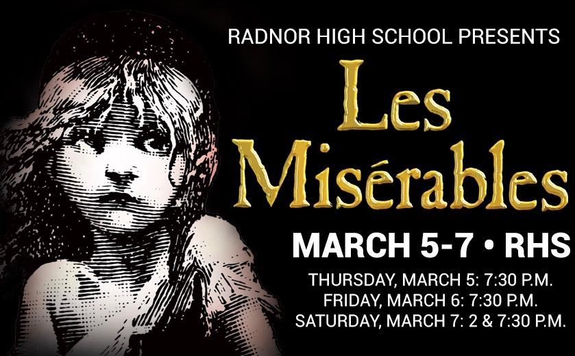 """Radnor High School Presents: Les Misérables """"Vive la Révolution"""""""