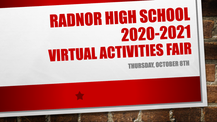 The Complete List of Clubs and Activities at Radnor High School 2020