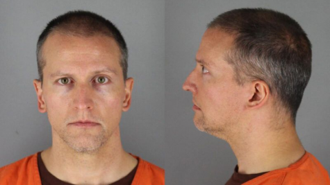 Derek Chauvin's mugshot taken at Hennepin County Jail. On April 20, 2021, he was found guilty of second-degree murder, third-degree murder, and second-degree manslaughter. Photo obtained from Reason Magazine.