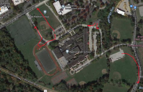 How To Leave the School in Under an Hour: Alternative Routes to Avoid Radnor's Construction Traffic