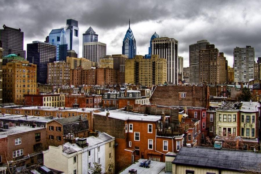 Philly skyline