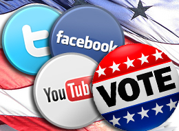 Social Media Has Hit the Polls