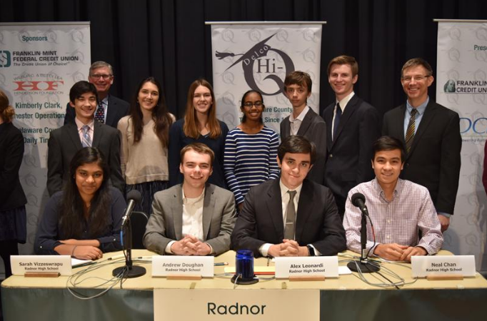 Radnor Hi-Q Finishes Strong