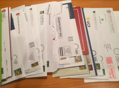 High School Senior Collects Record Number of College Letters