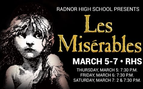 "Radnor High School Presents: Les Misérables ""Vive la Révolution"""