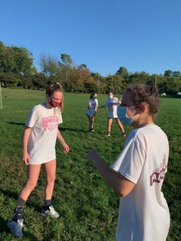 Radnor Girls Soccer Practice - Photo Taken By Edy MacKenzie