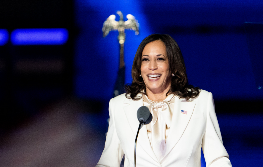 """Kamala Harris in Her White Suit""- The New York Times"