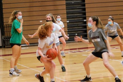 Radnor Girls Basketball Tryouts - Photo by Sammy Rosin