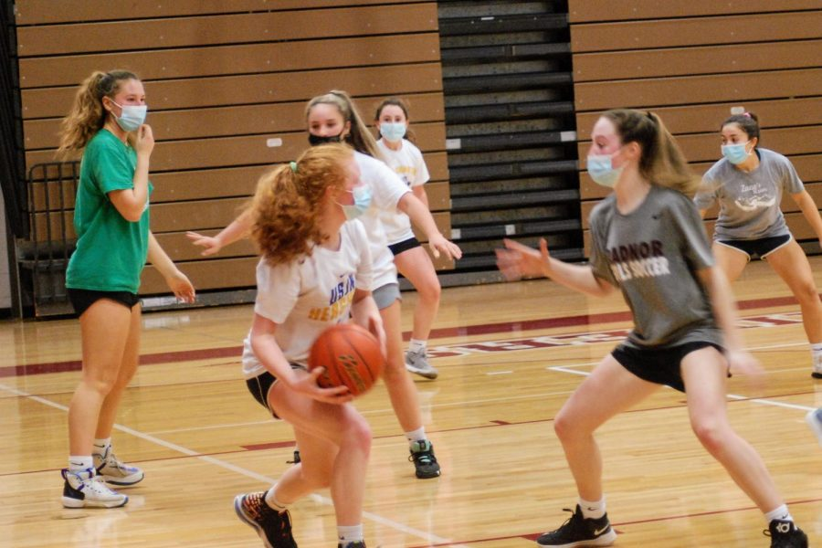 Radnor Girls Basketball Tryouts - Photo by Sammy Rosin