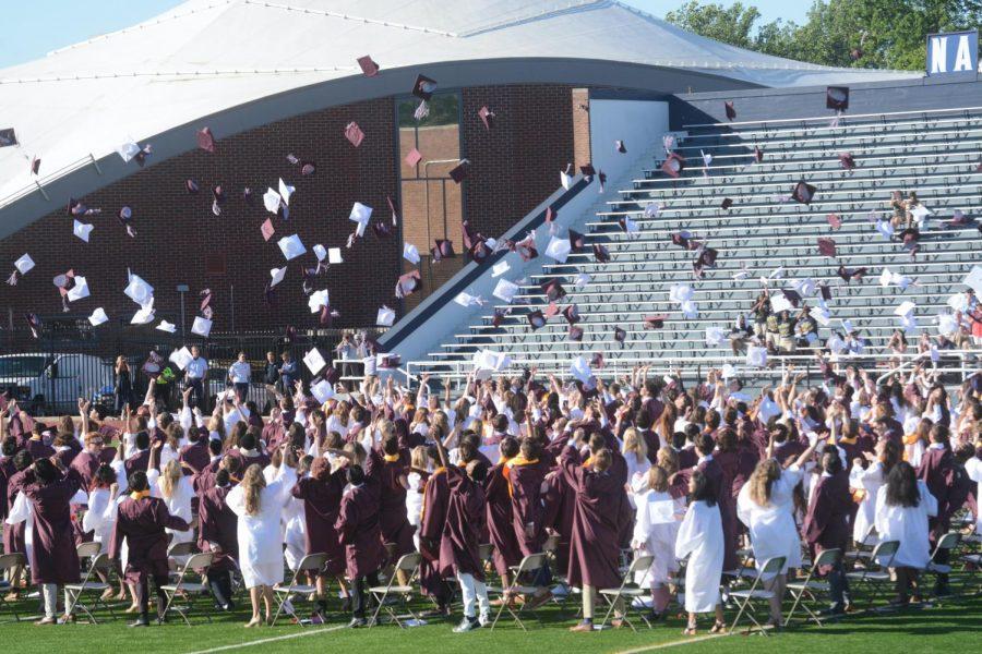 Radnor High School Class of 2021 Graduation, photograph taken by Sammy Rosin.