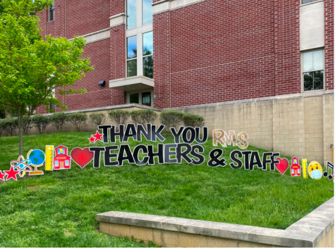 Teachers and Staff of Radnor, Thank you